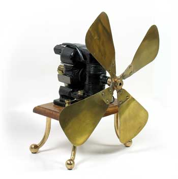 Kent Electric Co Fan Ca 1898 One Of The First Products Made And Sold By Aer Who Would Later Become World S Largest Manufacturer
