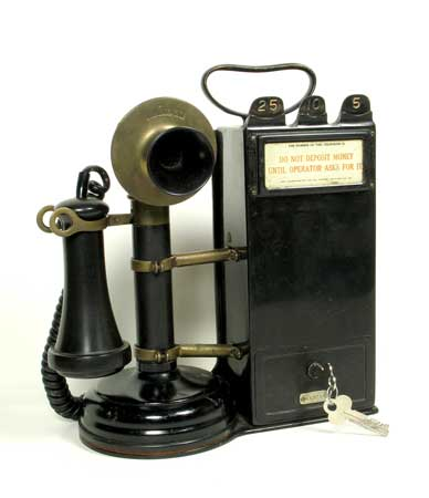 Gray Telephone Pay Station ca. 1911