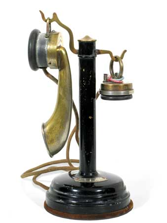 Thompson Houston Desk Telephone (French) ca. 1910